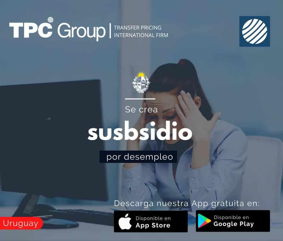 Se crea subisidio por desempleo en Uruguay