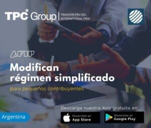 Modifican Régimen Simplificado para Pequeños Contribuyentes