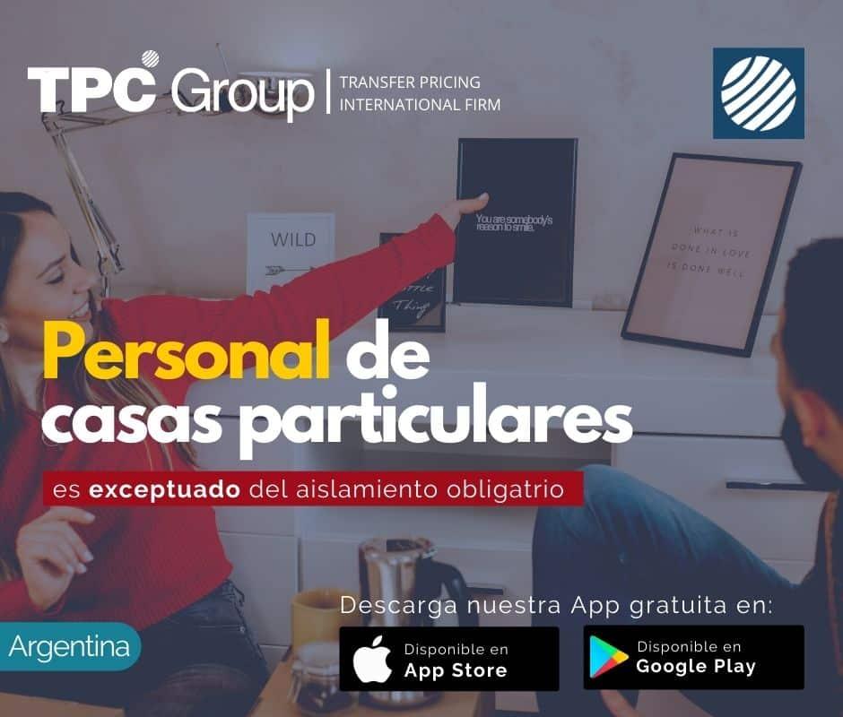Personal de Casas Particulares