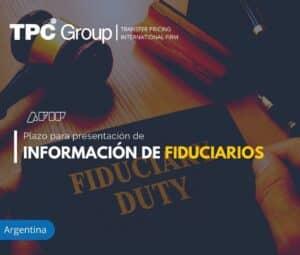 Plazos para Presentación de Información