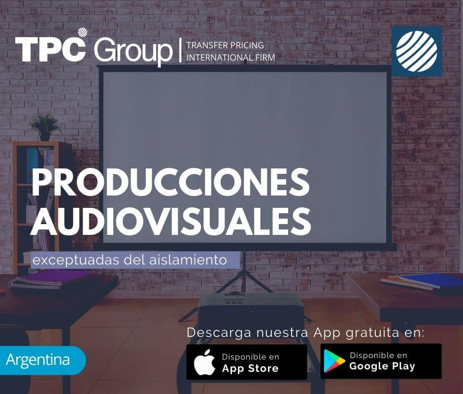 Producciones Audiovisuales Exceptuadas