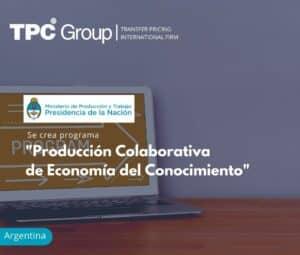 Se Crea Programa de Producción Colaborativa