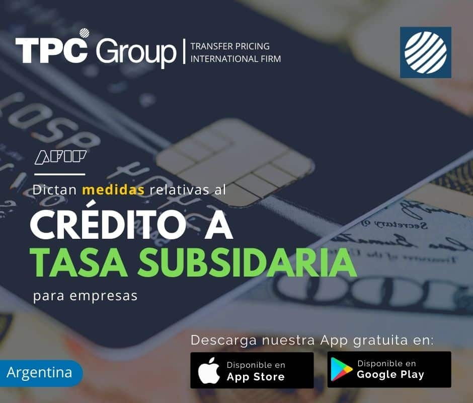 Dictan Medidas Relativas al Crédito a Tasa