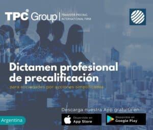 Dictamen Profesional de Precalificaciòn