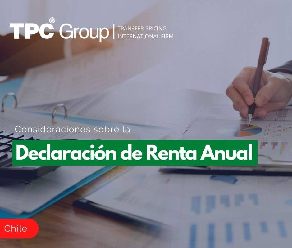 Consideraciones sobre la Declaración de Renta Anual
