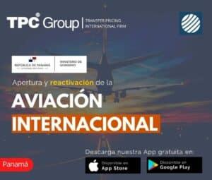 Apertura y Reactivación de la Aviación Internacional