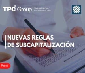 Nuevas Reglas de Subcapitalización