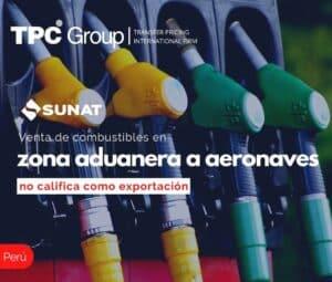 Ventas de Combustible en Zona Aduanera