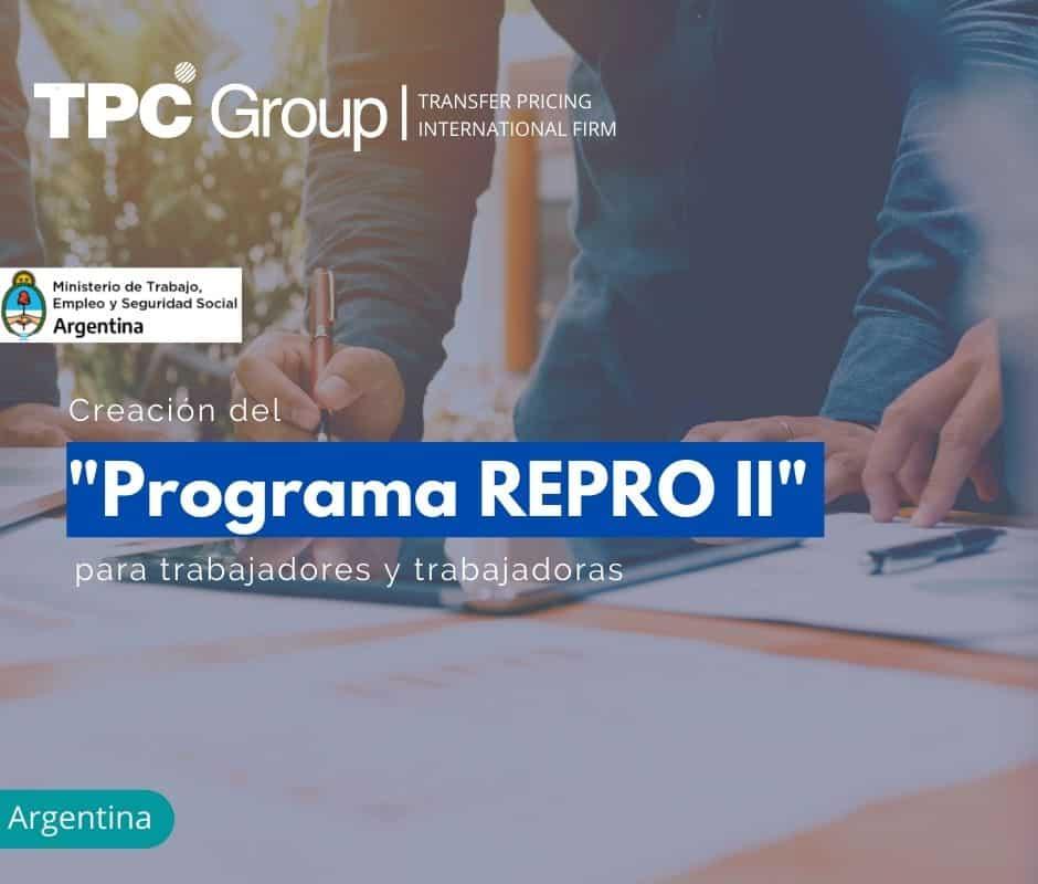 """CREACIÓN DEL """"PROGRAMA REPRO II"""" PARA TRABAJADORES Y TRABAJADORAS"""
