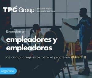 EXENCIÓN A EMPLEADORES Y EMPLEADORAS DE CUMPLIR REQUISITOS PARA EL PROGRAMA REPRO II