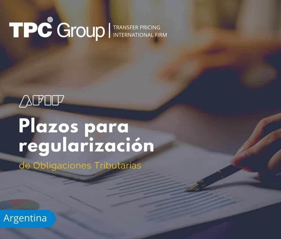 Plazos para Regularización