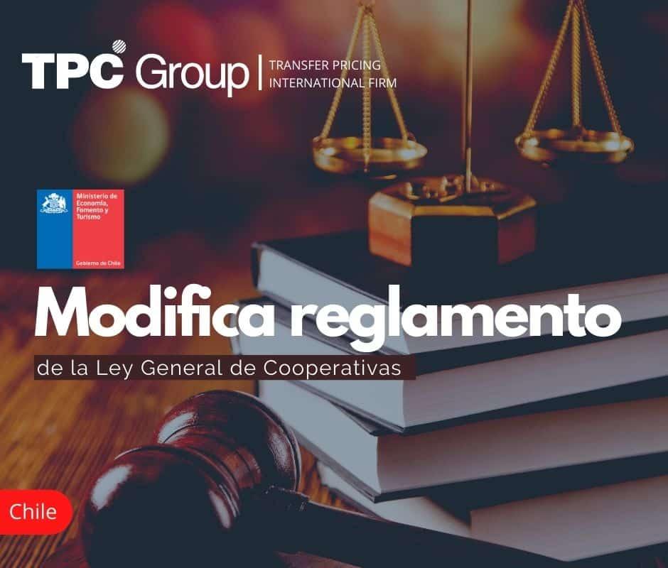 Modifica Reglamento de la Ley General de Cooperativas