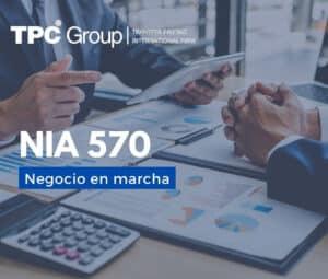 NIA 570 negocio en marcha en Colombia