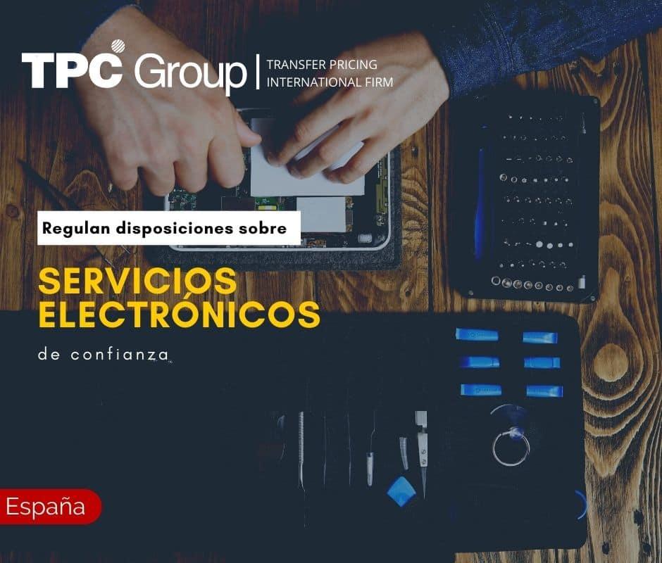 REGULAN DISPOSICIONES SOBRE SERVICIOS ELECTRÓNICOS DE CONFIANZA