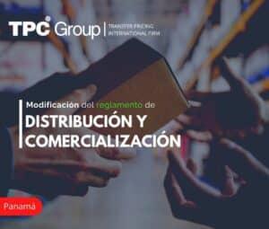 Modificación del Reglamento de Distribución