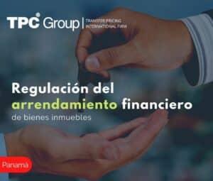 REGULACIÓN DEL ARRENDAMIENTO FINANCIERO DE BIENES INMUEBLES