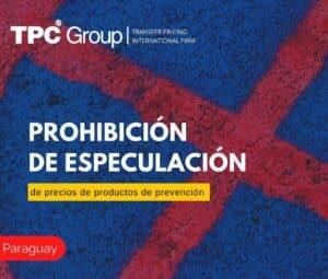 PROHIBICIÓN DE ESPECULACIÓN DE PRECIOS DE PRODUCTOS DE PREVENCIÓN