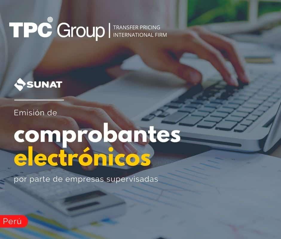 EMISIÓN DE COMPROBANTES ELECTRÓNICOS POR PARTE DE EMPRESAS SUPERVISADAS