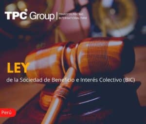 LEY DE LA SOCIEDAD DE BENEFICIO E INTERÉS COLECTIVO (BIC)