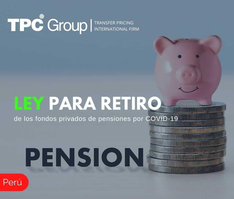 LEY PARA RETIRO DE LOS FONDOS PRIVADOS DE PENSIONES POR COVID-19