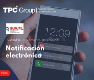 SUNAFIL IMPLEMENTA SISTEMA DE NOTIFICACIÓN ELECTRÓNICA