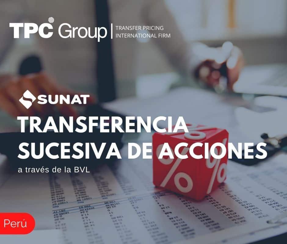 TRANSFERENCIA SUCESIVA DE ACCIONES A TRAVÉS DE LA BVL