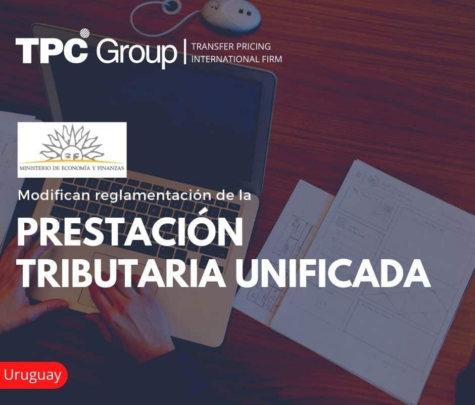 MODIFICAN REGLAMENTACIÓN DE LA PRESTACIÓN TRIBUTARIA UNIFICADA