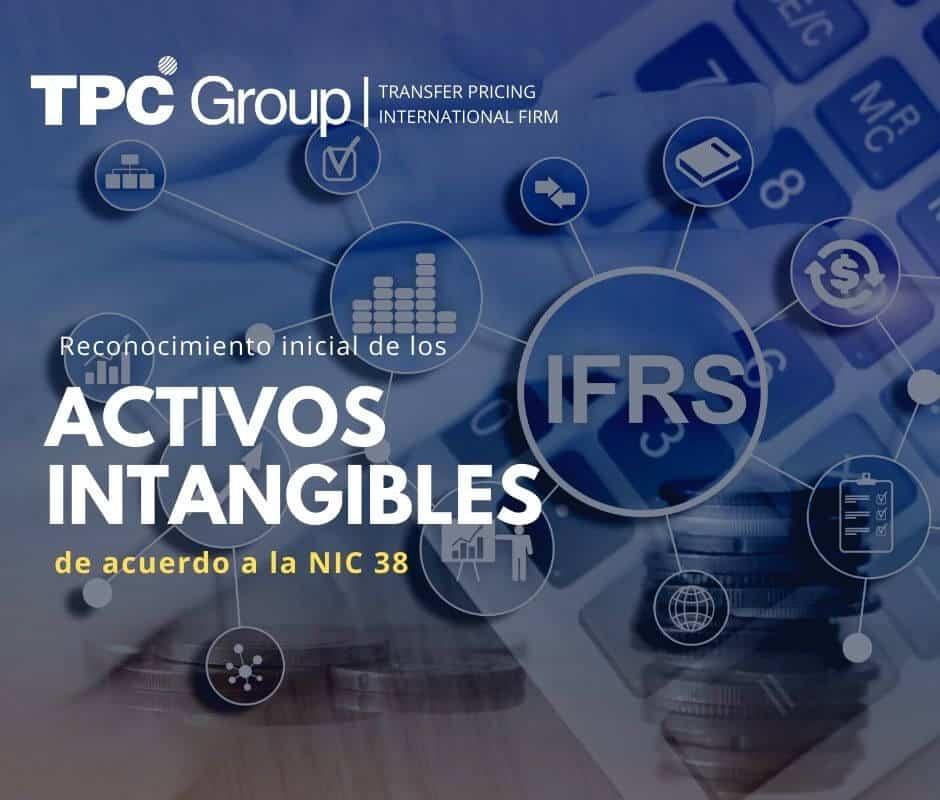 Reconocimiento inicial de los activos intangibles de acuerdo a la NIC 38