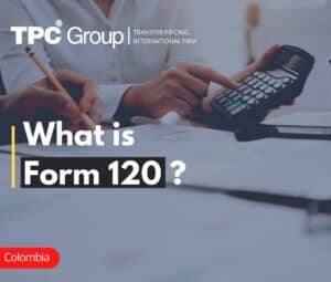 Form 120 Transfer Pricing Declaration