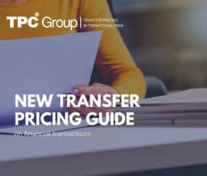 New Transfer Pricing Guide on Financial Transactions