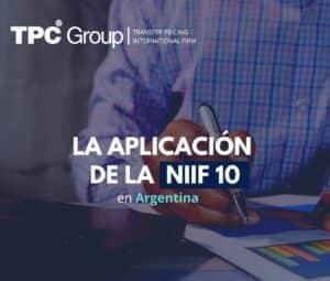 La aplicación de la NIIF 10 en argentina