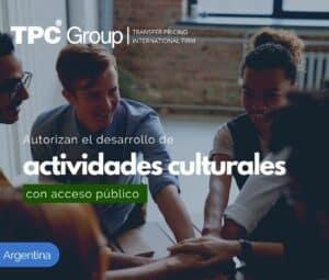 Permisión de Desarrollo de Actividades Culturales con Acceso Público