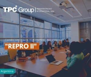 Condiciones para el Beneficio del Programa REPRO II
