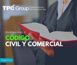 Modificaciones al Código Civil y Comercial de la Nación