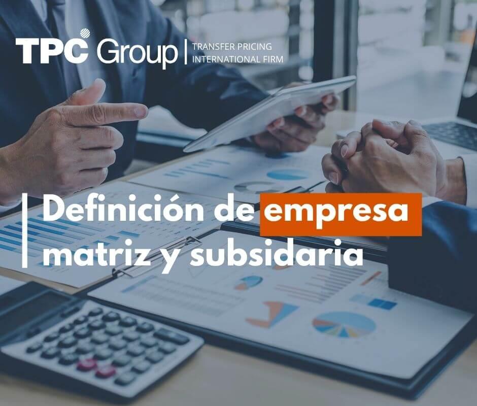 Definición de empresa matriz y subsidiaria en Bolivia