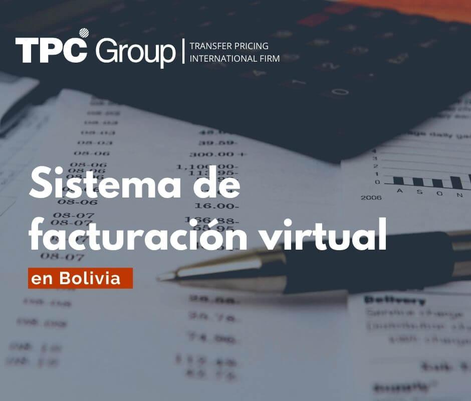 Sistema de facturación virtual en Bolivia
