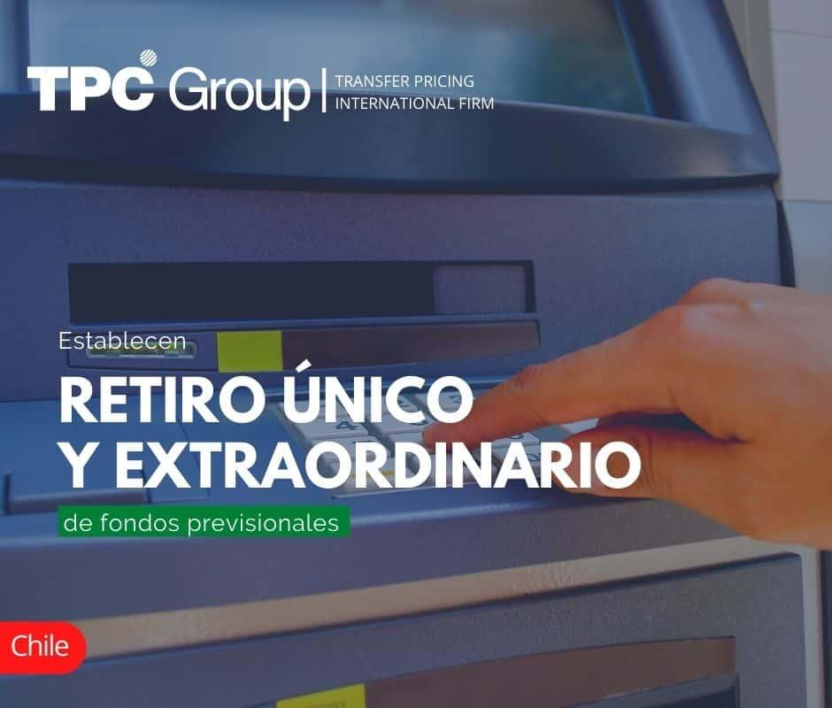 Establecen Retiro Único y Extraordinario de Fondos Previsionales