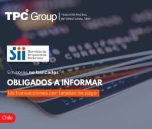 Emisores No Bancarios Obligados a Informar las Transacciones con Tarjetas de Pago
