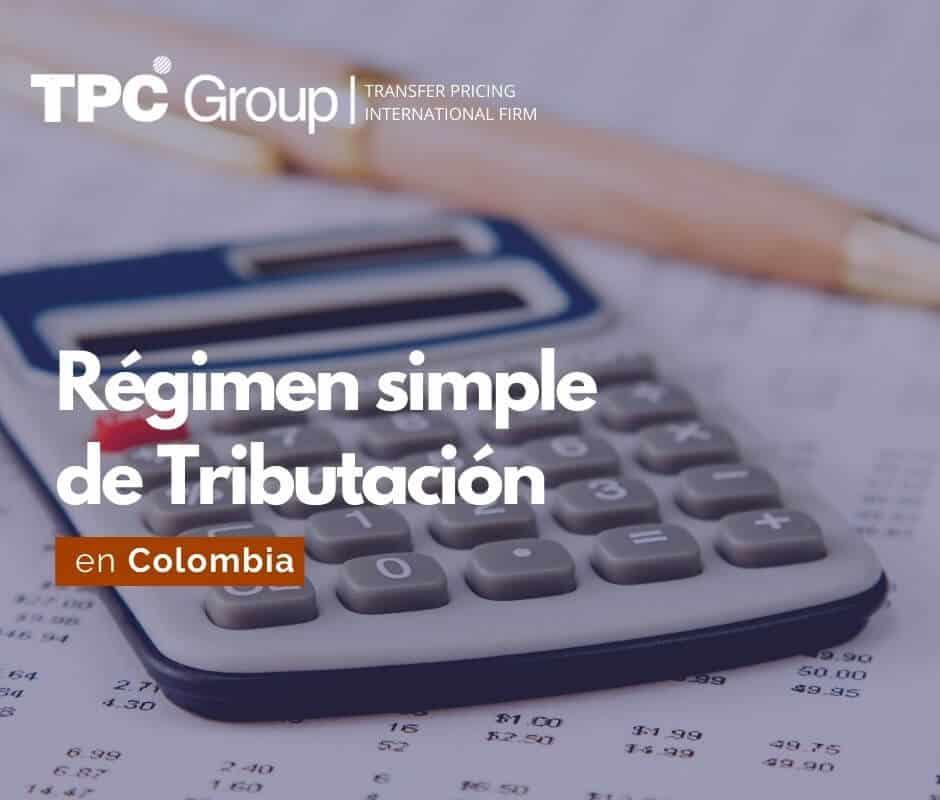 Régimen simple de Tributación en Colombia
