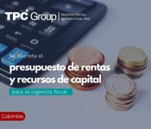 Se Decreta el Presupuesto de Rentas y Recursos de Capital para la Vigencia Fiscal