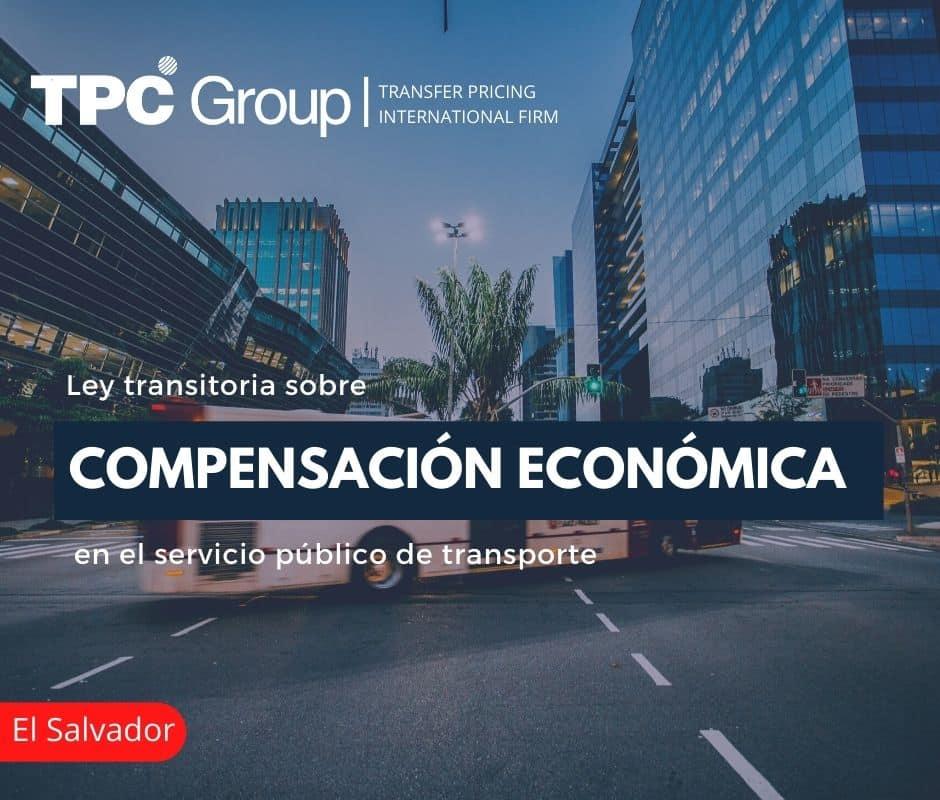 Ley Transitoria sobre Compensación Económica en el Servicio Público de Transporte