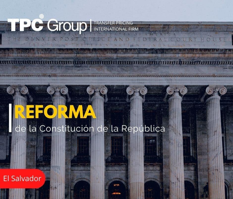 Reforma de la Constitución de la República