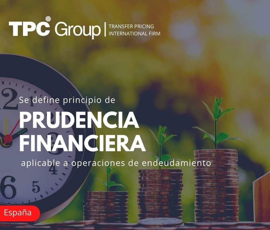 Se Define Principio de Prudencia Financiera Aplicable a Operaciones de Endeudamiento