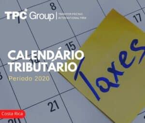 Calendário Tributário 2020: Costa Rica