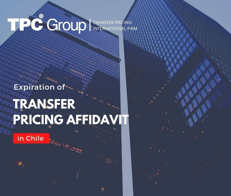 Expiration of Transfer Pricing Affidavit in Chile