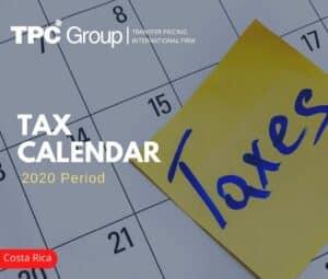 Tax Calendar 2020: Costa Rica