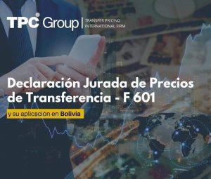 El formulario N°601 y su aplicación en Bolivia