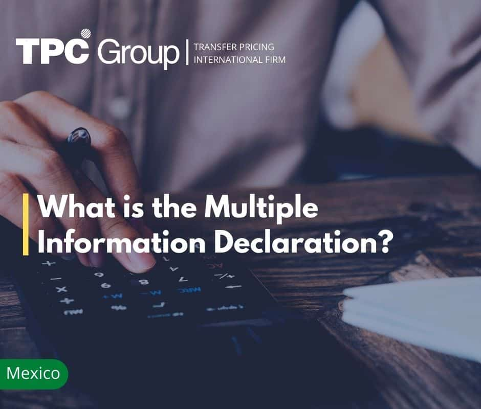 The Multiple Information Declaration (DIM)