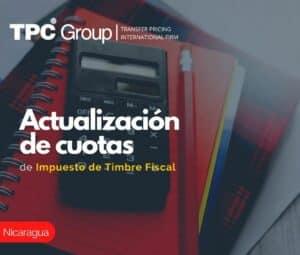Actualización de Cuotas de Impuesto de Timbre Fiscal