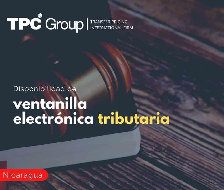 Disponibilidad de Ventanilla Electrónica Tributaria